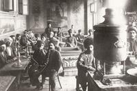 Baku teahouse 1900s (photo by Germanovich)
