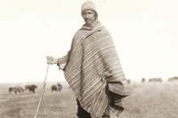 Shepherd, Kariagan District, 1920s