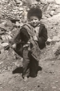 Boy from Xinaliq, 1950s