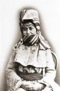 Armenian woman near the Persian border