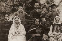 Hadzhibeyov family, Shusha; 1900s