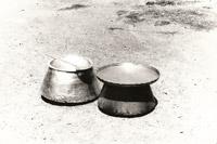 Copper dishes, Astara, 1970s