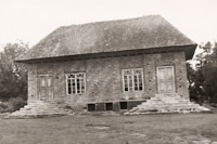 Old mosque, Astara District, 1958