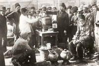 Tea Market in Baku, 1900s