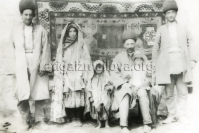 Family of an Azeri worker, 1905