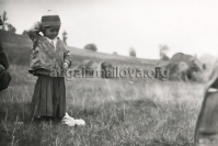 Child in Palikend Village, Astara District, 1959