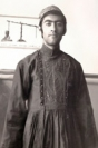 Young man in national dress, Nakhchivan, 1970s
