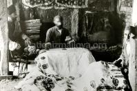 Производство Хялагаев набивных платков, восточное Закавказье, 19 в.